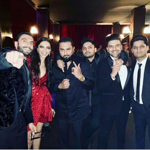 Pics Videos Ranveer Singh Deepika Padukones Mumbai Wedding