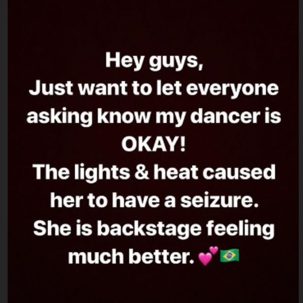 Iggy Azalea Explains Why She Kept Performing After Her Dancer Fainted