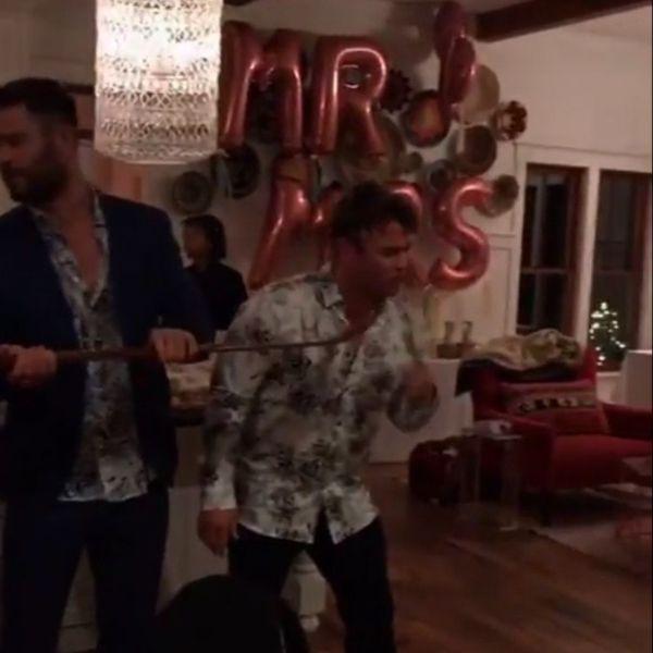 Sure Seems Like Miley Cyrus & Liam Hemsworth Got Married Yesterday!