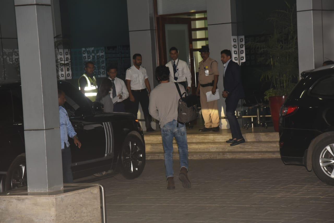 Ranbir Kapoor - Alia Bhatt leave for Akash Ambani's pre-wedding bash