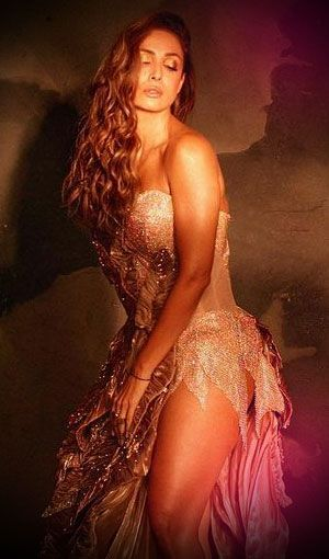 View Pics: Malaika redefines smokin' hot in a metallic gown