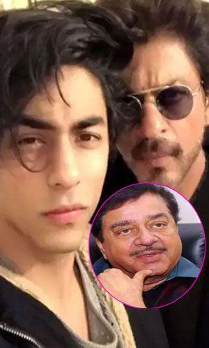 आर्यन खान की गिरतारी पर शत्रुघ्न सिन्हा ने तोड़ी चुप्पी !!