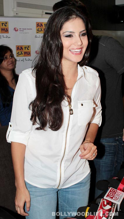 2 Sunny Leone Meets The Media After Release Of Jism