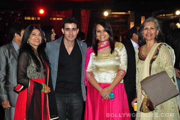 Ravi Dubey Sargun Mehta Wedding Sangeet Ceremony Pics