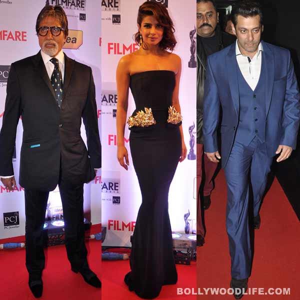 59th Idea Filmfare Awards 2013: Amitabh Bachchan, Salman Khan, Priyanka Chopra sizzle on the red carpet. View pics!