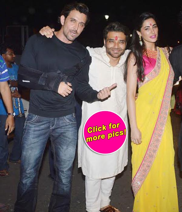 Uday Chopra Invites Nargis Fakhri And Hrithik Roshan Home For The Diwali Party View Pics Bollywoodlife