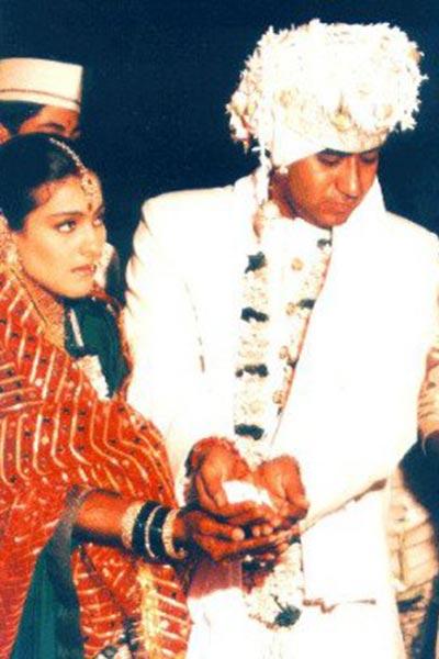 Kajol And Ajay Devgn Wedding Picture