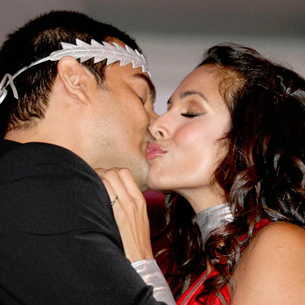 Malaika Arora Khan Kissing