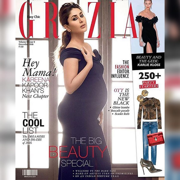 Pregnant Kareena Kapoor Khan On The Cover Of Grazia Flaunts Her Baby Bump With Grace