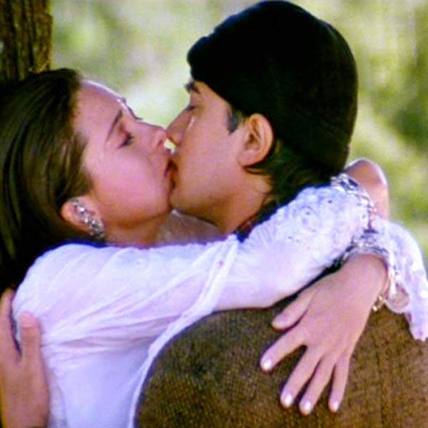 Karisma Kapoor Hot Kiss